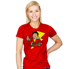 Vault Shazam - Womens - T-Shirts - RIPT Apparel