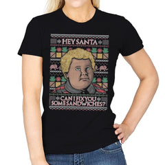 Sandwiches for Santa - Womens - T-Shirts - RIPT Apparel