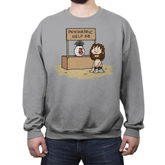 Volleyball Help! - Crew Neck Sweatshirt - Crew Neck Sweatshirt - RIPT Apparel