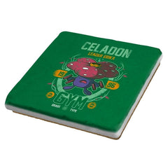 Celadon Gym - New Year's Evolutions - Coasters - Coasters - RIPT Apparel