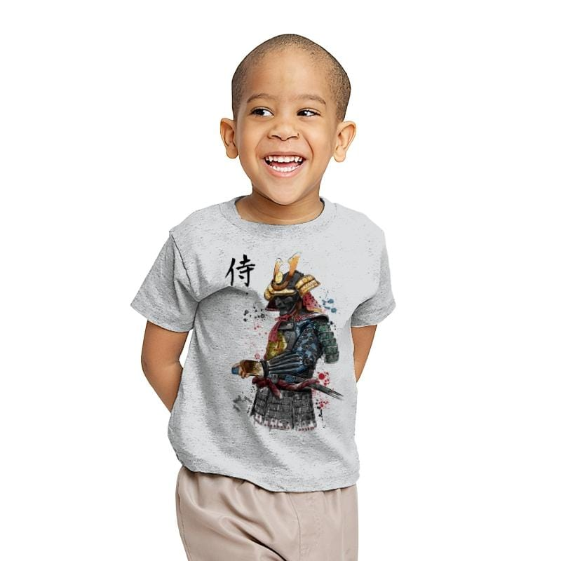 Samurai Watercolor - Youth - T-Shirts - RIPT Apparel