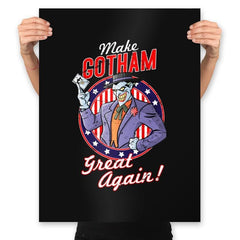 Make Gotham Great Again - Prints - Posters - RIPT Apparel