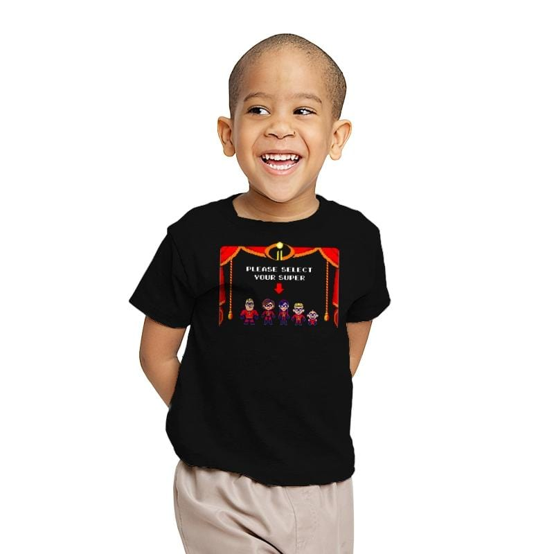 Super Incredible Family II - Youth - T-Shirts - RIPT Apparel