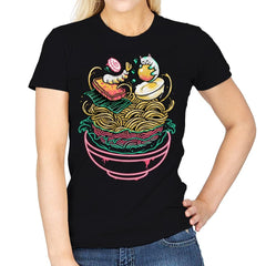 Floating Ramen - Womens - T-Shirts - RIPT Apparel