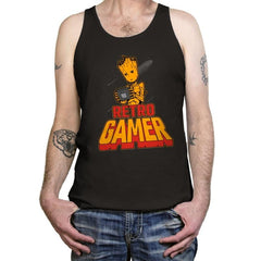 I am Retro Gamer - Tanktop - Tanktop - RIPT Apparel