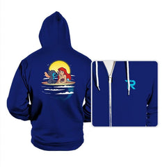 Aloha Mermaid - Hoodies - Hoodies - RIPT Apparel