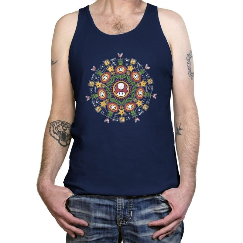 One Up Mandala - Tanktop - Tanktop - RIPT Apparel