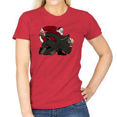 Santa vs Krampus - Womens - T-Shirts - RIPT Apparel