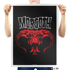 Morgoth - Heavy Metal Machine - Prints - Posters - RIPT Apparel