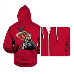 Burninating and Blood - Hoodies - Hoodies - RIPT Apparel