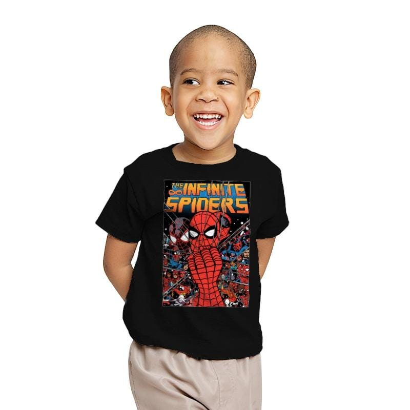 Infinity Spiders - Youth - T-Shirts - RIPT Apparel