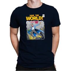 Save the World! Exclusive - Mens Premium - T-Shirts - RIPT Apparel