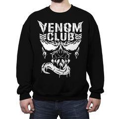 Venom Club - Crew Neck Sweatshirt - Crew Neck Sweatshirt - RIPT Apparel