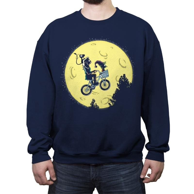 Dream Moon - Crew Neck Sweatshirt - Crew Neck Sweatshirt - RIPT Apparel