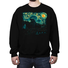 Nightfall in Middle-earth - Crew Neck Sweatshirt - Crew Neck Sweatshirt - RIPT Apparel