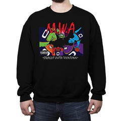 Straight Outta Toontown - Crew Neck Sweatshirt - Crew Neck Sweatshirt - RIPT Apparel