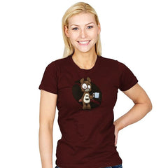 Caffeine Bear - Womens - T-Shirts - RIPT Apparel