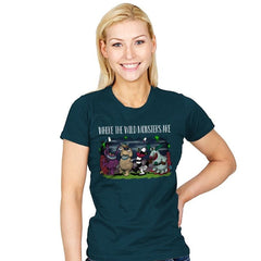 Wild Monsters - Womens - T-Shirts - RIPT Apparel