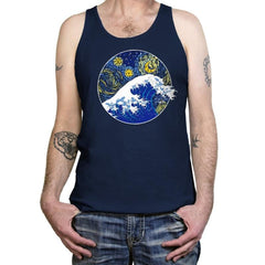 Starry Wave - Tanktop - Tanktop - RIPT Apparel