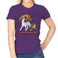Unicarnage - Womens - T-Shirts - RIPT Apparel