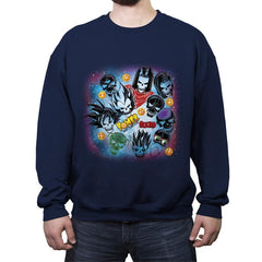 Power Squad - Crew Neck Sweatshirt - Crew Neck Sweatshirt - RIPT Apparel