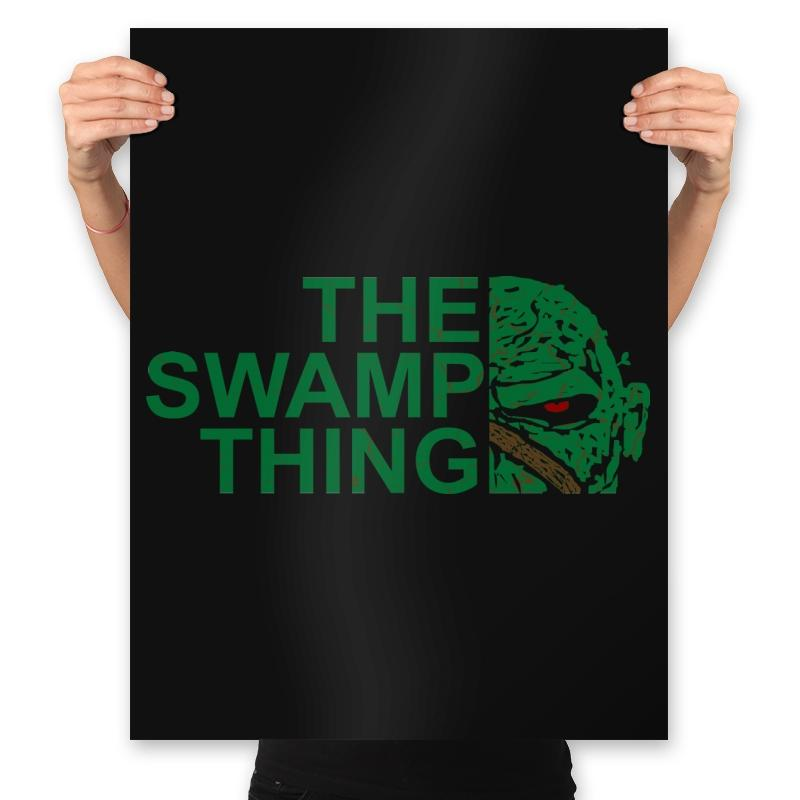 The Swamp Face - Prints - Posters - RIPT Apparel