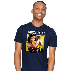 WW Can Do It! - Mens - T-Shirts - RIPT Apparel