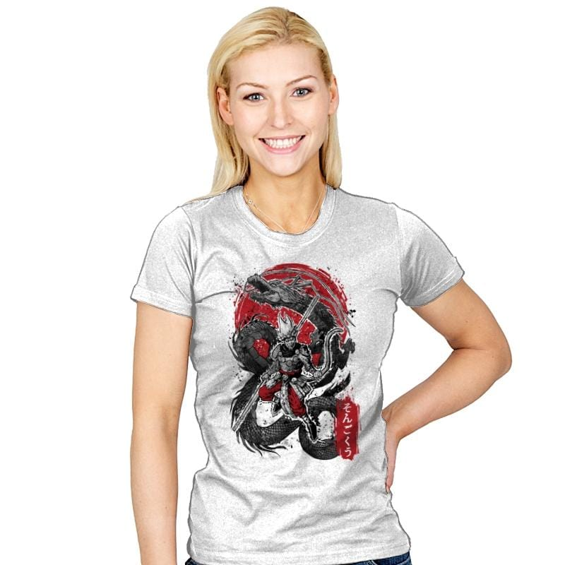 The Monkey King - Womens - T-Shirts - RIPT Apparel