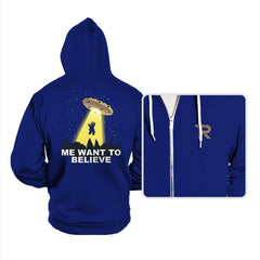 Me Want To Believe - Hoodies - Hoodies - RIPT Apparel