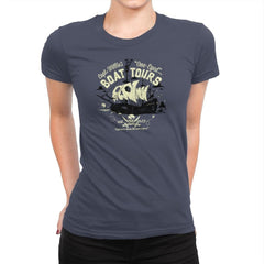 One-Eyed Boat Tours Exclusive - Womens Premium - T-Shirts - RIPT Apparel
