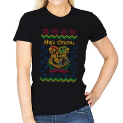 Magical Christmas - Ugly Holiday - Womens - T-Shirts - RIPT Apparel