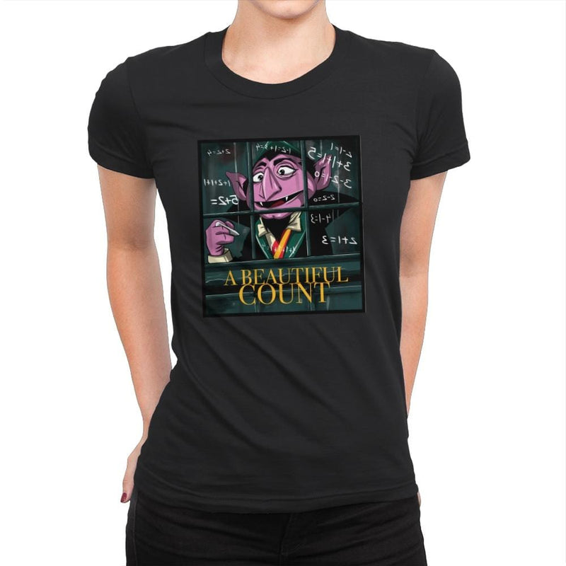 A Beautiful Count - Womens Premium - T-Shirts - RIPT Apparel