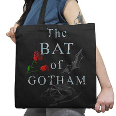 The Bat of Gotham Exclusive - Tote Bag - Tote Bag - RIPT Apparel