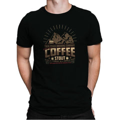 Damn Fine Coffee Stout Exclusive - Mens Premium - T-Shirts - RIPT Apparel