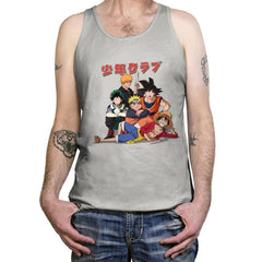 The Shonen Club - Tanktop - Tanktop - RIPT Apparel