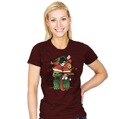 Christmas Pets - Womens - T-Shirts - RIPT Apparel