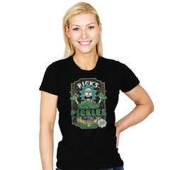 Rick's Pickles - Womens - T-Shirts - RIPT Apparel