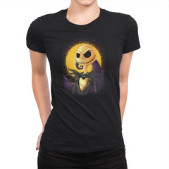 Halloween Portrait - Pop Impressionism - Womens Premium - T-Shirts - RIPT Apparel