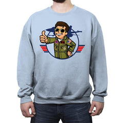 Vault Maverick - Crew Neck Sweatshirt - Crew Neck Sweatshirt - RIPT Apparel