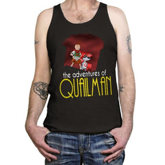 Adventures of Quailman - Tanktop - Tanktop - RIPT Apparel