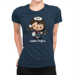 Hello Dingus - Womens Premium - T-Shirts - RIPT Apparel