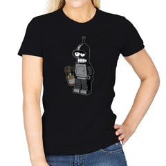 Mini Bendingbot Exclusive - Brick Tees - Womens - T-Shirts - RIPT Apparel