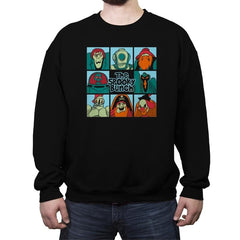 The Spooky Bunch - Crew Neck Sweatshirt - Crew Neck Sweatshirt - RIPT Apparel