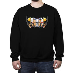 Berserker Break Down - Crew Neck Sweatshirt - Crew Neck Sweatshirt - RIPT Apparel