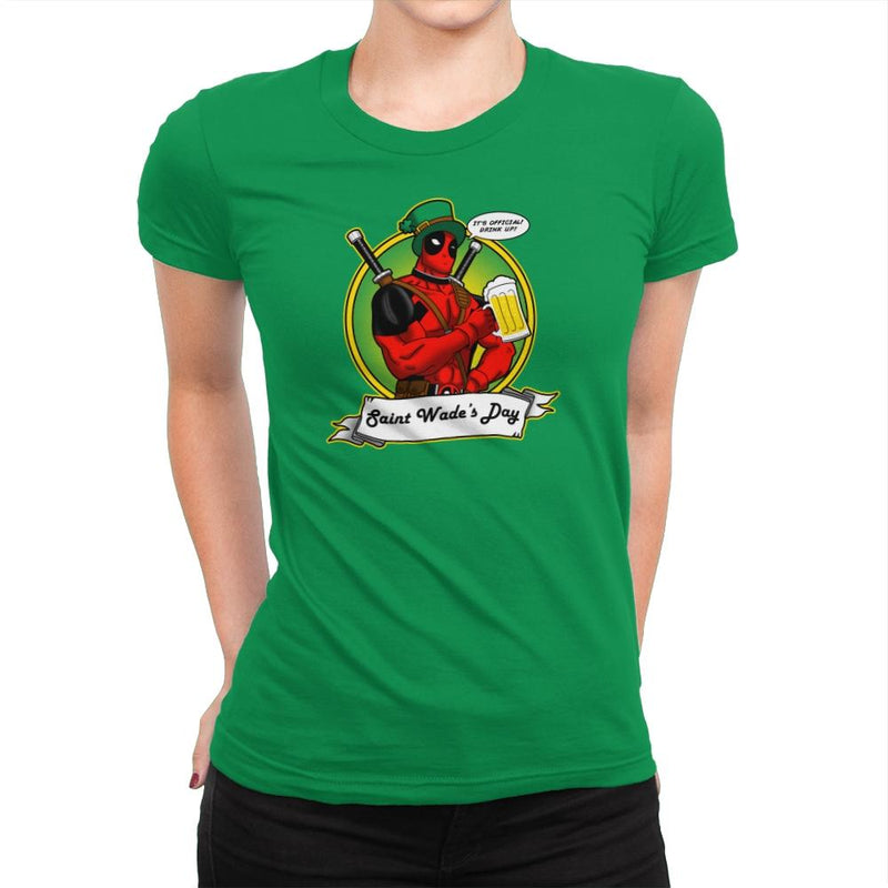 Saint Wade's Day Exclusive - Womens Premium - T-Shirts - RIPT Apparel