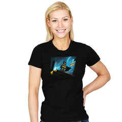 Minibat: The Animated Series - Womens - T-Shirts - RIPT Apparel