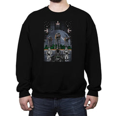 Wrath of the Empire - Crew Neck Sweatshirt - Crew Neck Sweatshirt - RIPT Apparel