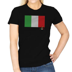 Italy Brick Flag Exclusive - Womens - T-Shirts - RIPT Apparel