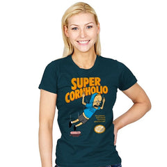 Super Cornholio - Womens - T-Shirts - RIPT Apparel