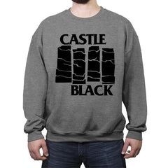 Castle Black Flag - Crew Neck Sweatshirt - Crew Neck Sweatshirt - RIPT Apparel